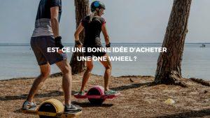 onewheel sur plage