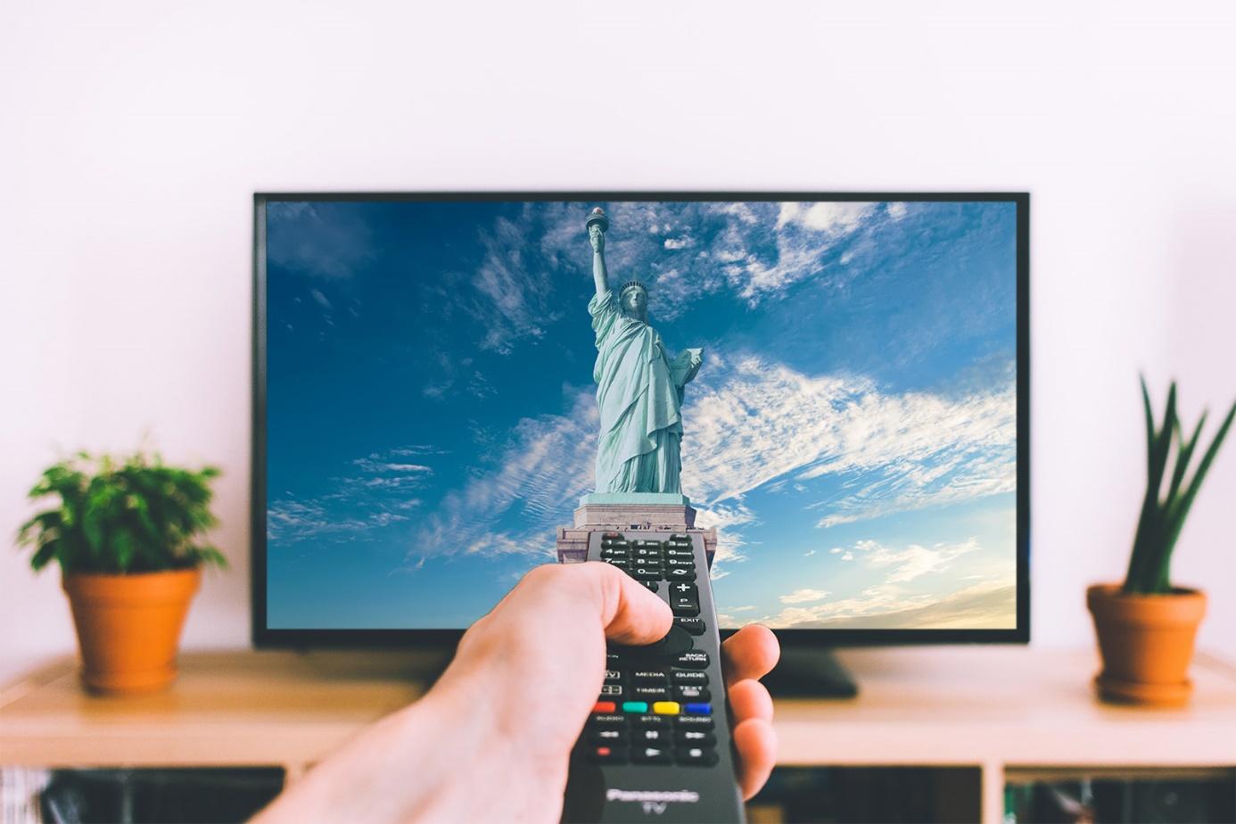 statut de libérté sur la TV